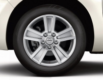 "16"" Alloy Wheels (x4)"